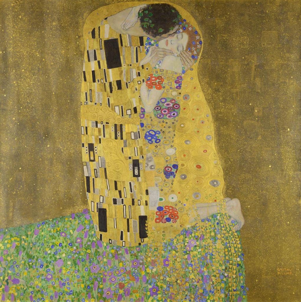Поцелуй Климта