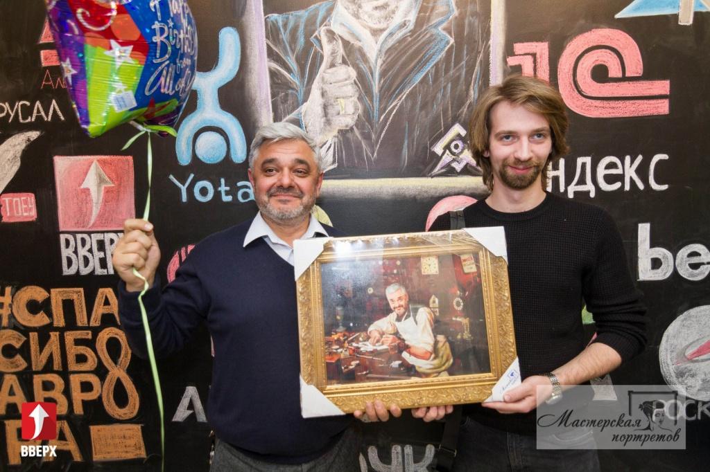 Портрет на заказ для Владимира Мариновича