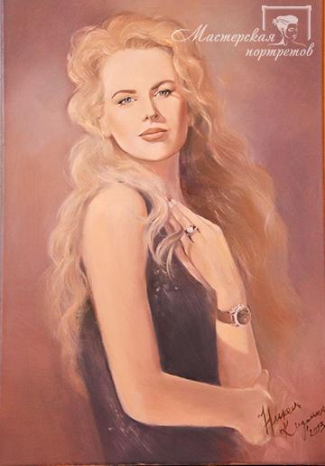 Заказать портрет маслом Спб