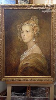 Портрет для фильма «Картина маслом»