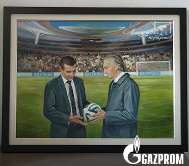 Картина маслом для ПАО «Газпром»
