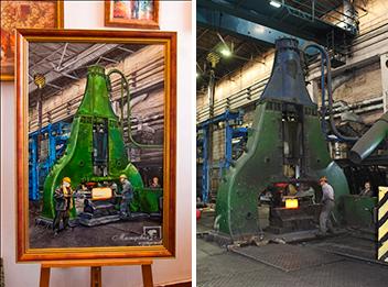 Картины по заказу Кузнечно Металлургического Завода