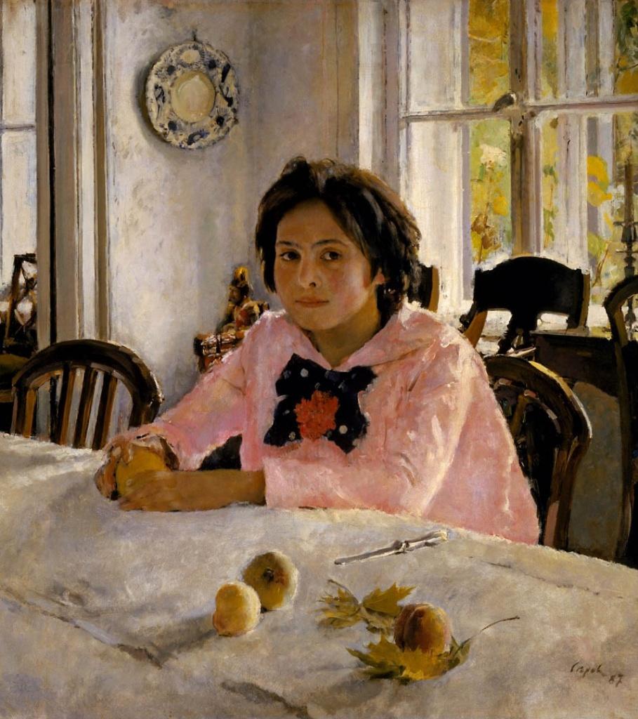 Валентин Серов - девочка с персиками